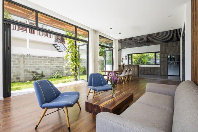 4 1509283088513 Nhà phố 2 tầng lầu đẹp từ ngoài vào trong tại thành phố biển Nha Trang qpdesign