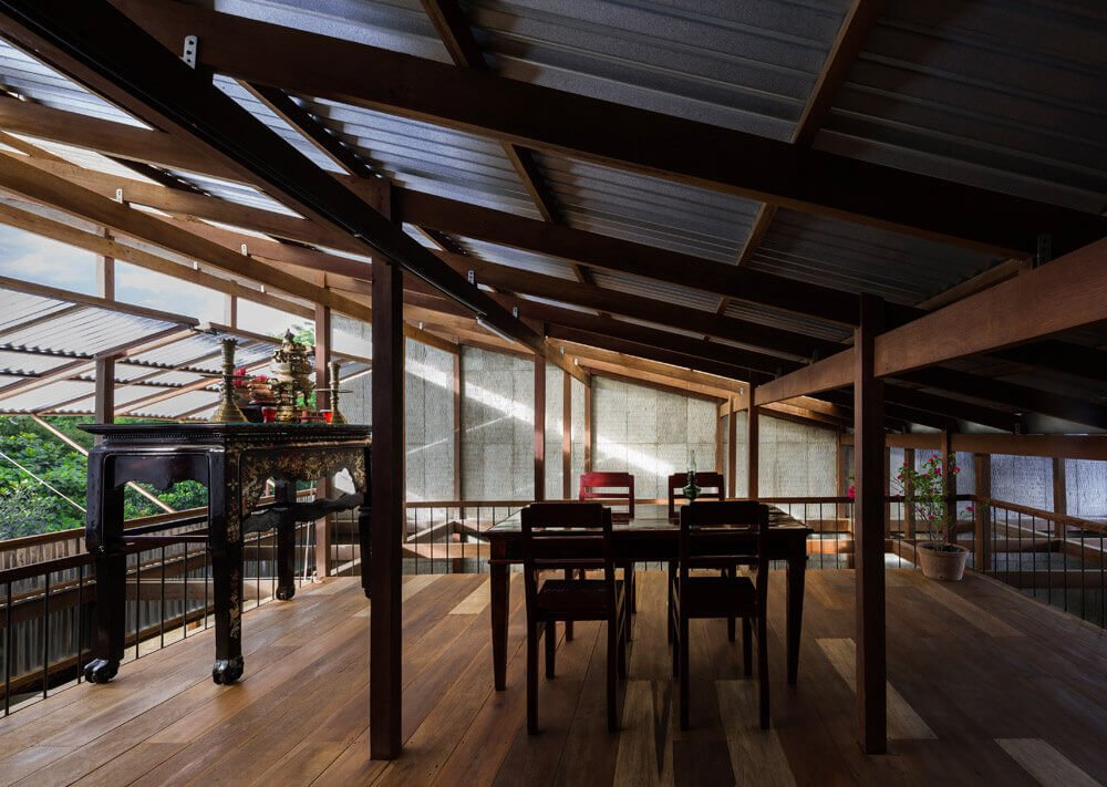 Nhà mái tôn vẫn mát của KTS Nhật Bản tại An Giang
