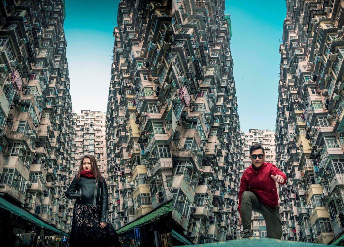 Montane Mansion - chung cư 'nhìn mỏi cổ' ở Hong Kong