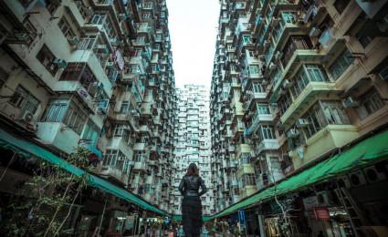 Montane Mansion – chung cư 'nhìn mỏi cổ' ở Hong Kong