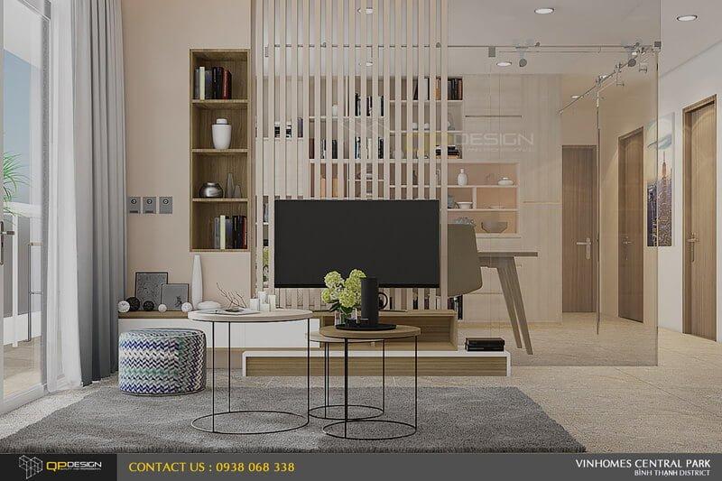 Thiết kế nội thất căn hộ chung cư Vinhomes Central Park11