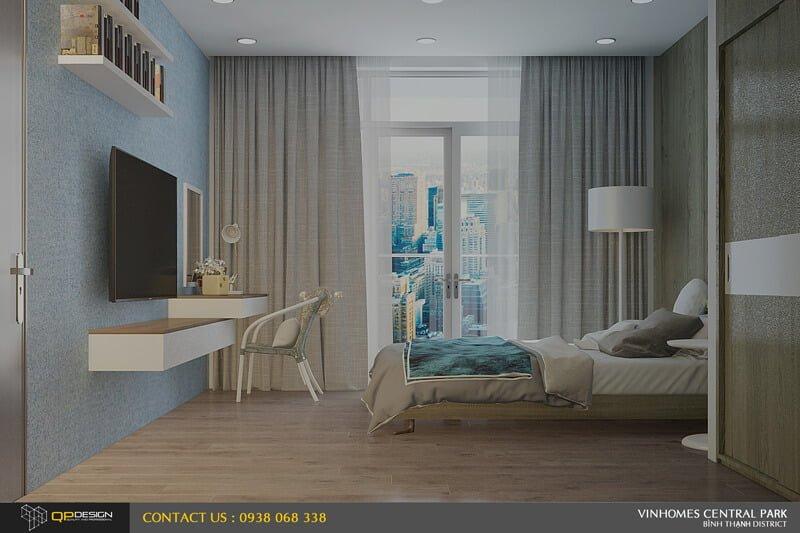 Thiết kế nội thất căn hộ chung cư Vinhomes Central Park12