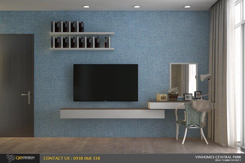 Thiết kế nội thất căn hộ chung cư Vinhomes Central Park 15