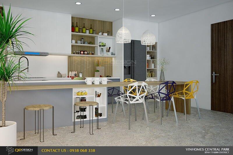 Thiết kế nội thất căn hộ chung cư Vinhomes Central Park 5