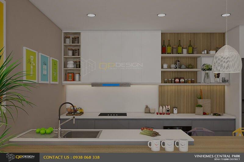 Thiết kế nội thất căn hộ chung cư Vinhomes Central Park7