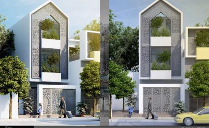 Thiết kế nhà phố trong hẻm