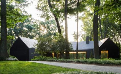 Slate House Của Ziger Snead Thay Thế Ngôi Nhà Maryland Bị Tàn Phá Do Hỏa Hoạn