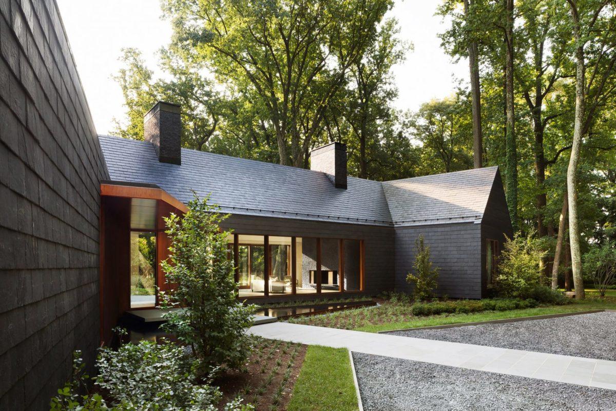 Slate House Của Ziger Snead Thay Thế Ngôi Nhà Maryland Bị Tàn Phá Do Hỏa Hoạn 5