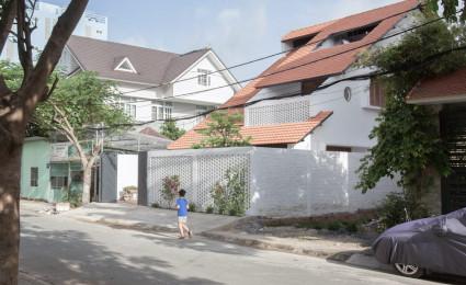 Nhà Mái Ngói của K59atelier lấy cảm hứng từ những ngôi nhà truyền thống Việt Nam