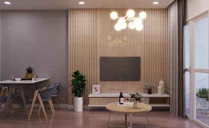 Thiết kế nội thất phòng khách căn hộ Vinhomes