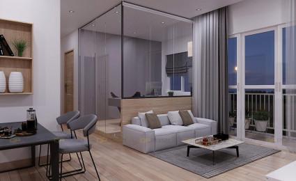 Thiết kế căn hộ 2 phòng ngủ + Vinhomes Grand Park