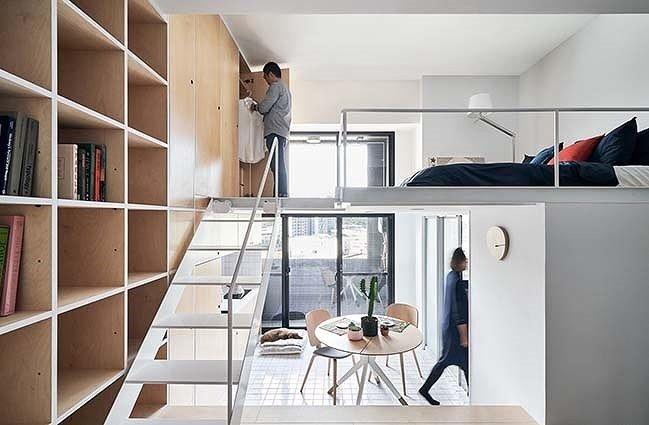 Thiết kế gác lửng căn hộ