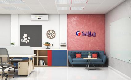 Thiết kế nội thất văn phòng Salmar