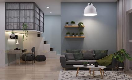 Thiết kế căn hộ Vinhomes Grand Park 1PN+
