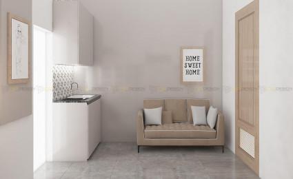 Thiết kế thi công căn hộ dịch vụ – Bành Văn Trân, Tân Bình