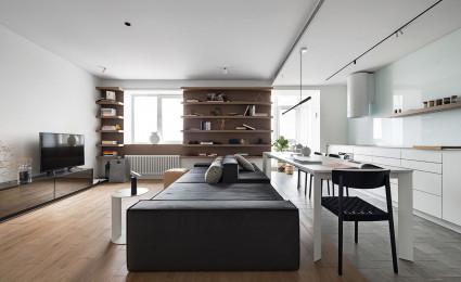 Mẫu thiết kế nội thất căn hộ sáng tạo