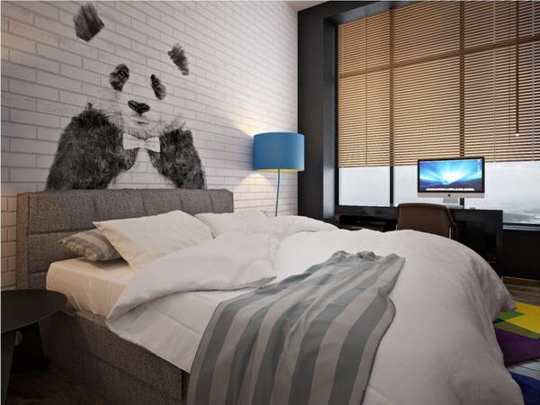 Thiết kế phòng ngủ mang phong cách tối giản