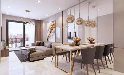 Thiết kế nội thất căn hộ 2 phòng ngủ Safira Khang Điền